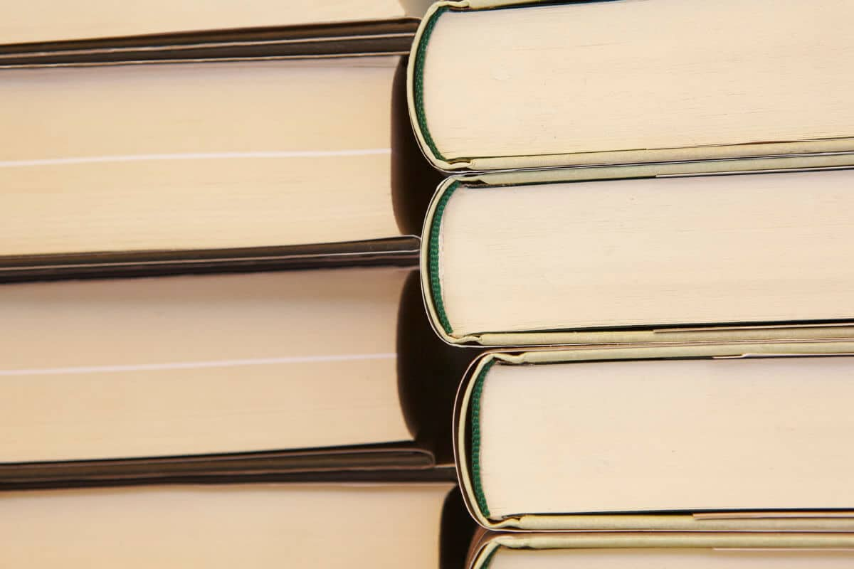 stacked books educational and learning background PQRQZXC